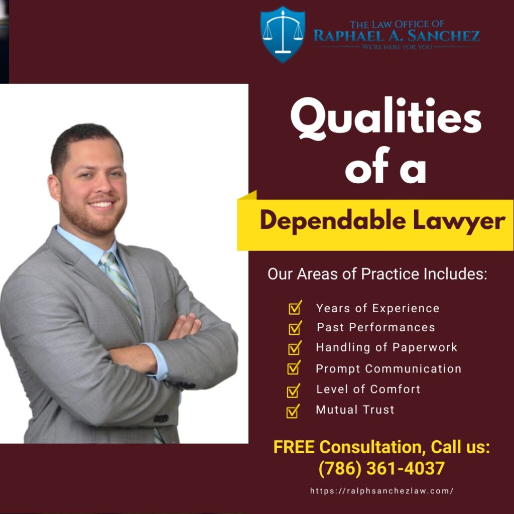 Qualities of a Dependable Lawyer